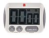 RS Pro Digital Desktop Timer White