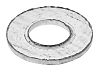 Zinc Plated Steel Plain Washer, 0.50mm Thickness, M2.5
