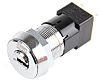 Mains Key Switch, DPST, 50 mA @ 250 V ac 2-Way