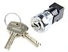 High Security Key Switch, DPST, 50 mA @