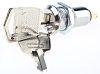 Key Switch, SPST, 500 mA @ 24 V