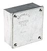 RS PRO Steel Galvanised Adaptable Box, 8 Knockouts