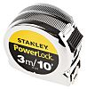 Stanley PowerLock 3m Tape Measure, Metric & Imperial