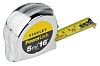 Stanley PowerLock 5m Tape Measure, Imperial, Metric, With RS Calibration