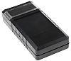 Bopla BOS Black, Transparent ABS Handheld Enclosure, 120
