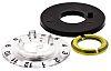 RS PRO Potentiometer Dial, 14mm Knob Diameter, Black,