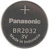 Panasonic BR2032 Button Battery, 3V, 20mm Diameter