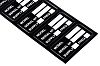 Brady Adhesive Pre-Printed Adhesive Label. Quantity: 100