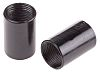 RS PRO Coupler Cable Conduit Fitting, Black 20mm