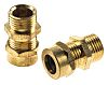 RS PRO M16 Cable Gland, Brass