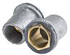RS PRO Flange Coupler Cable Conduit Fitting, 25mm