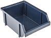 Raaco Blue Plastic Stackable Storage Bin, 75mm x