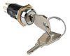 Key Switch, DP-CO, 3 A@ 50 V dc,