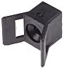 HellermannTyton Black Cable Tie Mount 14 mm x