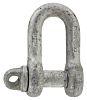 RS PRO D-Shackle, Zinc Plated Steel, 1T