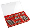 RS PRO Stainless Steel Extension Spring Kit, 128