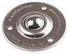 ALWAYSE 3-Hole Flange 25mm Stainless Steel Ball Transfer