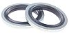 RS PRO Nitrile Rubber Seal, 12.7mm Bore ,