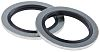 RS PRO Nitrile Rubber SealBonded Seal, 18.7mm Bore,