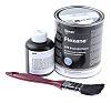 ITW Devcon Flexane, 500 g Black Tin Epoxy Adhesive for Concrete, Glass Fibre Reinforced Polymer, Metal, Rubber, Wood
