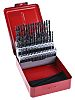 Dormer 60 piece Wood Twist Drill Bit Set,