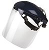 Bolle Clear Nylon, PC Face Shield with Brow