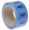RS PRO Blue PP, Vinyl Pipe Marking Tape,