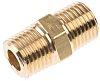 Legris LF3000 100 bar Brass Pneumatic Straight Threaded