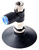 SMC 50mm Flat with Rib NBR Suction Cup