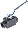 Parker Phosphated Steel Line Mounting Hydraulic Ball Valve,