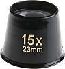 RS PRO Bi-aspheric eye magnifier, 15 x Magnification,