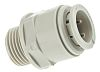 JG Speedfit Straight Adapter PVC Pipe Fitting, 15mm