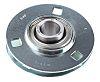 3 Hole Flanged Bearing, SLFE20, 20mm ID