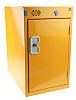 RS PRO 1 Door Steel Yellow Locker, 480 mm x 300 mm x 450mm