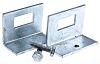 Unistrut Steel Window Bracket, Fits Channel Size 21