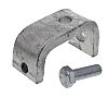 Unistrut Steel 0.43kg C Clamp, Fits Channel Size