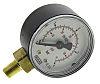 Pneumatic,FRL,gauge,bottom entry,50mm dia,4-bar
