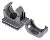 PMA Cable Clip Grey Screw Nylon Conduit Clip,