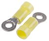 TE Connectivity PLASTI-GRIP Series Insulated Crimp Ring Terminal,