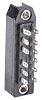 Conector DIN 41612 Telegartner J00041A0913, Hembra, 12 contactos, 2 filas, Soldador, Recta