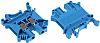 Phoenix Contact UK 5 N BU Reihenklemme Einfach Blau, 0.2 → 4mm², 800 V / 32A