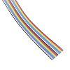 3M 20 Way Unscreened Flat Ribbon Cable, 25.4