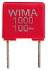 WIMA 1nF Polyester Capacitor PET 63 V ac,