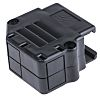 Amphenol ICC 863093C Thermoplastic Angled, Straight D-sub Connector Backshell, 15 Way, Strain Relief