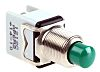 APEM 1NC Momentary Push Button Switch, 12.2 (Dia.)mm,