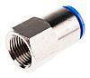 Festo Pneumatic Straight Threaded-to-Tube Adapter, G 1/2 Female,