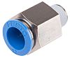 Festo Threaded-to-Tube Pneumatic Fitting R 1/4 to Push