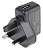 XP Power, 5W Plug In Power Supply 5V dc, 1A, Level VI Efficiency, 1 Output Switched Mode Power Supply, Type G