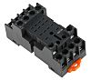 RS PRO 14 Pin Relay Socket, DIN Rail,