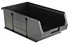 Anti-Static, Conductive Carbon, Polypropylene ESD Bin, 350 x